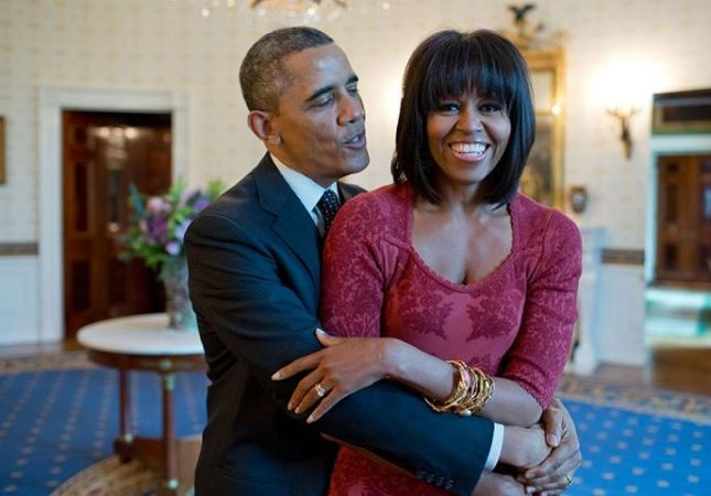 Barack & Michelle: A Pampering Love Affair photo © Pete Souza
