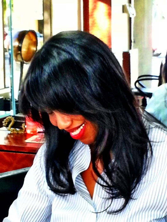 "Haircare Entrepreneur Ms. Nadine Branch, ""Hair Doc"""