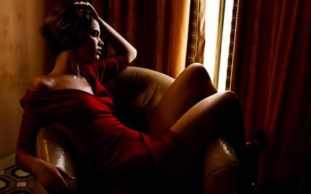 Red Dress distress