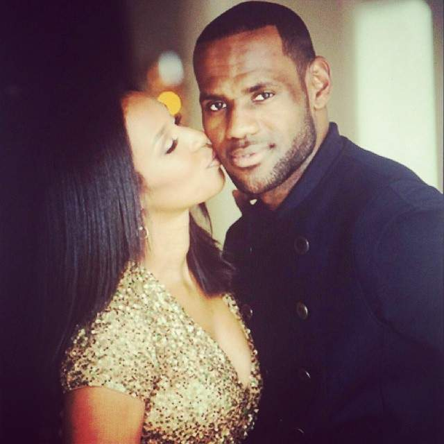 "Mrs. Savannah James & Her MVP: LeBron ""The King"" James"