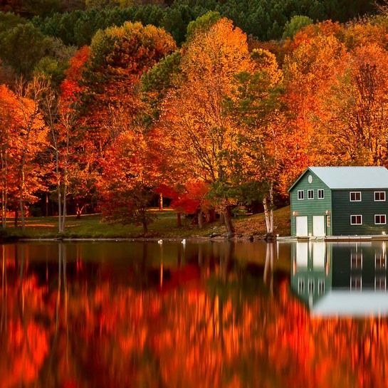 autumn-lake